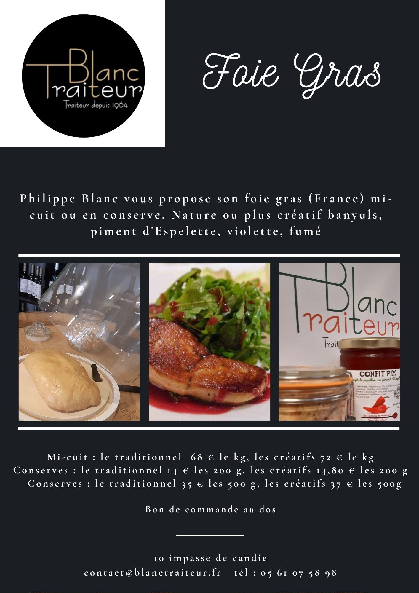 foie gras recto